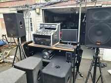 More details for dj equipment full set up.. way to much to list