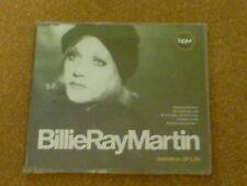 BILLIE RAY MARTIN - IMITATION OF LIFE - CD SINGLE