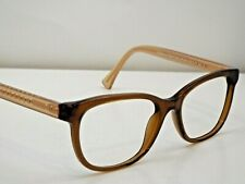 Authentic Coach HC 6072 5328 Brown Glitter Crystal Light Brown Eyeglasses $229