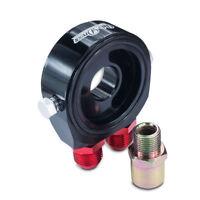 Ölkühler Ölfilter Adapter Platte AN10 + Öldruck/temp. 1/8 NPT,3/4-16,M18,M20,M22