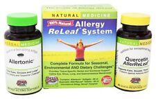 Herbs Etc - Allergy ReLeaf System - 60 Allertonic Softgels & 60 AllerReLeaf