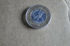 Treasure Island-Vegas, Limited Edition Ten Dollar Gaming Token, .999 Fine Silver