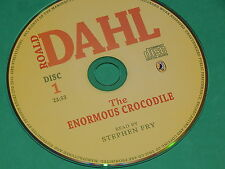 THE ENORMOUS CROCODILE (read by Stephen Fry) on Audio CD by ROALD DAHL  NEW