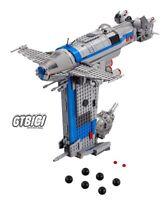LEGO STAR WARS `` RESISTANCE BOMBER ´´  Ref 75188  MINIFIGURAS NO INCLUIDAS