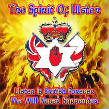 ***The Spirit Of Ulster***  NEW - LOYALIST/ULSTER/ORANGE CD