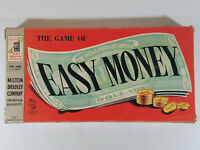Vintage Easy Money Board Game - 1950s Milton Bradley 4039