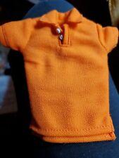 Fashionista Orange Ken Polo shirt Fashion Mint no packaging