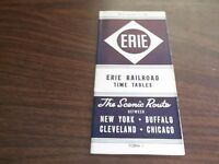 NOVEMBER 1946 ERIE RAILROAD FORM 1 SYSTEM PUBLIC TIMETABLE