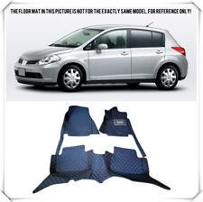 RHD Car floor mats For Nissan Tiida (C11) 2005-2011 Right hand drive auto carpet