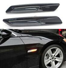 LED Side marker Turn Signal ligths For BMW E90 E91 E82 E87 E88 E60---Black Trim