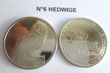 Pièce N°6 HEDWIGE neuve / coin jeton pour album Harry Potter GRINGOTTS