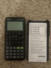 casio fx-9750giii graphing calculator