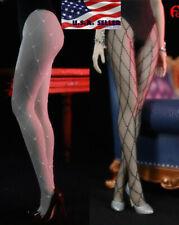 "1/6 Fishnet Hosiery Lingeries Tights For 12"" Tbleague Female Figure Doll �Usa�"