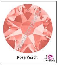 ROSE PEACH Swarovski 144 pieces 16ss 4mm Crystal Flatback Rhinestones 2058