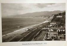 Pacific Coast HWY 1933 Vintage Image Malibu 24x36 Never Framed,   ...Make Offer