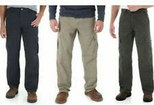 Wrangler Men's Rip-Stop Cargo Pant Relaxed Fit  100% Cotton
