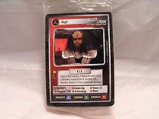 STAR TREK CCG 2 PLAYER GAME, KLINGON SET OF 4 CARDS