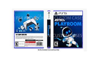 CUSTOM REPLACEMENT CASE NO DISC Astro's Playroom SEE DESCRIPTION