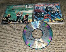 Iron Maiden The Number Of The Beast CD EMI USA ORIGINAL CDP 7 46364 2 ORIGINAL
