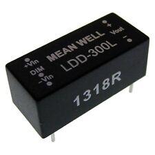 Mean Well ldd-300l Led fuentes de alimentación 9-36vin 2-32vout 300ma Controlador Led