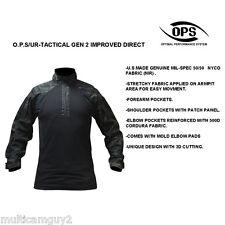 OPS / UR-TACTICAL GEN 2 Improved DA combat shirt in CRYE MULTICAM BLACK-XLR