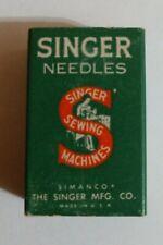 Vintage Singer Sewing Machine Needles 15X1 Size 14