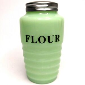 Beehive Flour Jadeite Mold Milk Green Powder Shaker Jadite Reproduction F1