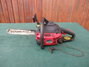 """Vintage HOMELITE RANGER POWERSTROKE Chainsaw Chain Saw with 12"""" Bar"""