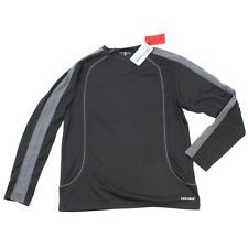 NEW Somo Athletics Active Longsleeve CoolMax Black Jersey Fresh FX Active Gym M