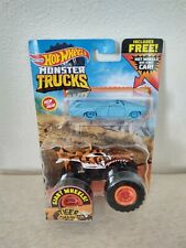 Hotwheels Monster Truck Tiger Shark Giant Wheels Free Diecast Car