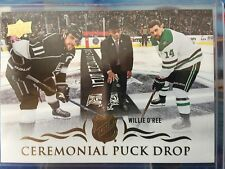 18-19 SERIES 1 CEREMONIAL PUCK DROP WILLIE O'REE CPD-2 (RARE)