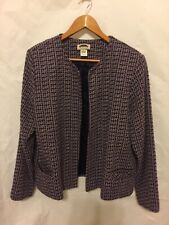 Mark Reed Blazer SIZE 14 Long Sleeve Ipen Front Two Pocket .