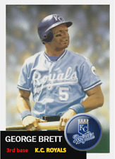 GEORGE BRETT 53 ACEO ART CARD ## BUY 5 GET 1 FREE ### or 30% OFF 12 OR MORE