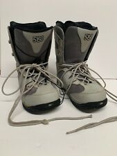 5150 Fifty One Fifty Snowboard Boots Mens 11 GREY