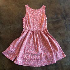 Juicy Couture Pink/Coral Floral Knee Length Sundress -  Size 0