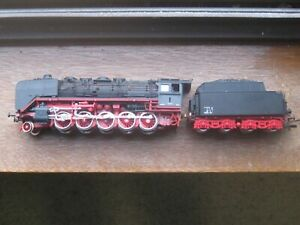 ROCO DB Br 50 2-10-0 Steam Locomotive & Tender. HO Scale. No Box.