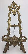 Vintage Brass Easel Victorian Style Book iPad Holder Plate Stand Art Nouveau