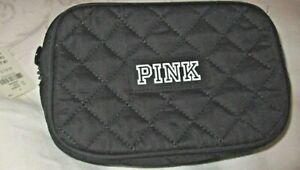 New with Tag Victoria Secret Pink FANNY PACK BLACK Quilted BAG PURSE TOTE
