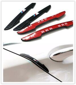 For BMW M SPORT Door Anti-Rub Bumper Strips Car Accessories Exterior 4 Pcs Set