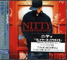 Nitty - Player's Paradise - Japan CD+1BONUS - NEW 13Trk