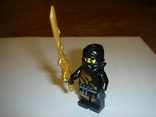 LEGO NINJAGO black Ninja Cole DX  Dragon with dragon sword  new