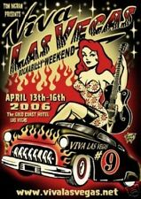 Viva Las Vegas VLV9 Poster Rockabilly Weekend Vince Ray