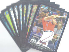 2013 BOWMAN DRAFT BLACK WAVE LOT 10 CARDS - GATTIS, NOLIN, GONZALES, KUBITZA