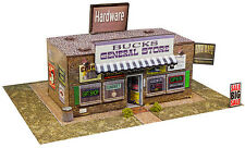 """BK 4318 1:43 Scale """"General Store"""" Photo Real Scale Building Kit Model Trains"""