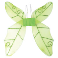 ANIMALS & #NATURE BUTTERFLY FAIRY WINGS GREEN FANCY DRESS ADULT OUTFIT ACCESSORY