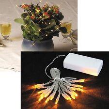 LED MINI LIGHT CHAIN 20 LEDs funcionamiento con Batería para el interior