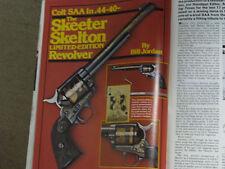 SHOOTING TIMES TEST COLT SAA 44-40, H&R 340, RUGER O/U SHOTGN &  T/C HOTSHOTS
