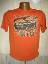 american muscle car big block engine t-shirt youth size XL 14- V8 car hot rod 75