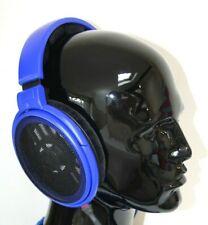 Custom Color Blue Sennheiser HD600 Studio Audiophile Headphones With Litz Cable