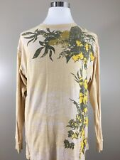 Mecca 13th Long Sleeve Graphic Tee Men's XL Beige